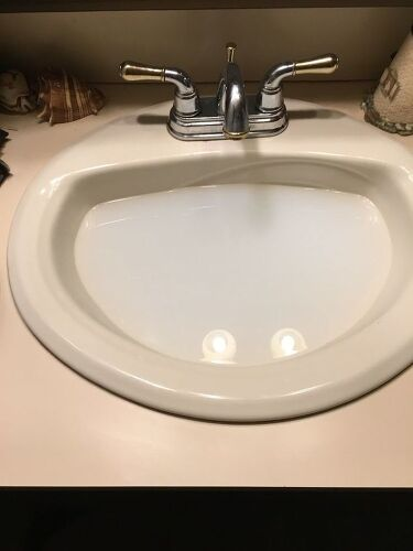 Then my granddaughter clogged one of my bathroom sinks. I tried snaking it  to no avai. I need help. thanks in advance. I hope someone can help me