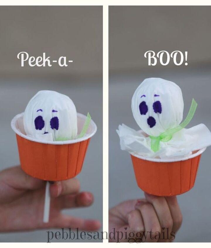 peek a boo tissue ghosts