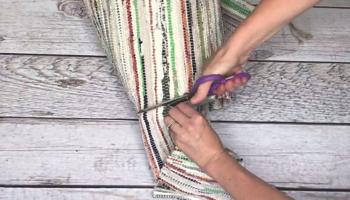 recycle a rag rug