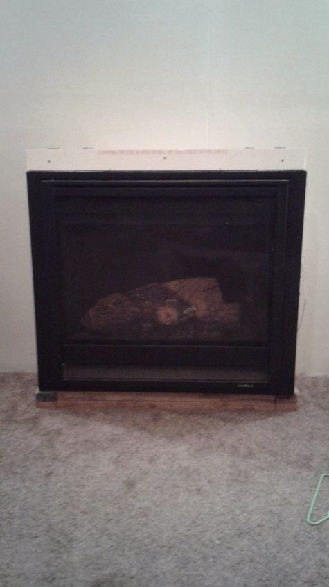 q how to build a gas fireplace surround