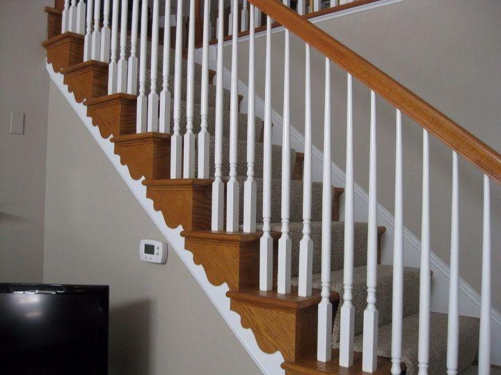 q stair railing hate it