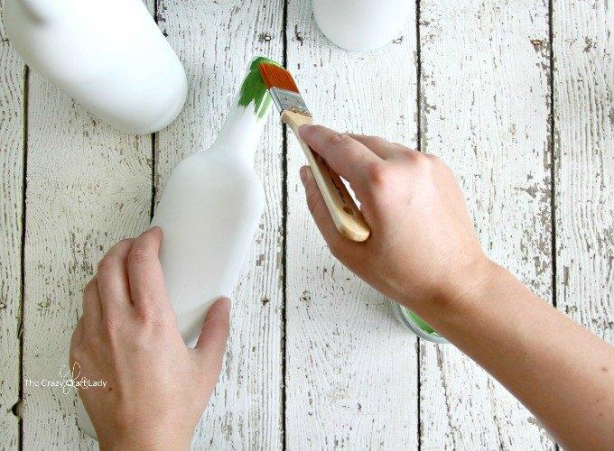 painted wine bottles wine bottle vases