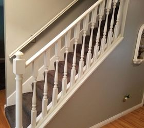 Q Update Interior Stair Spindles