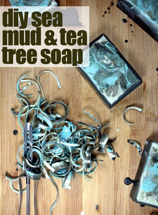 diy sea mud tea tree soap