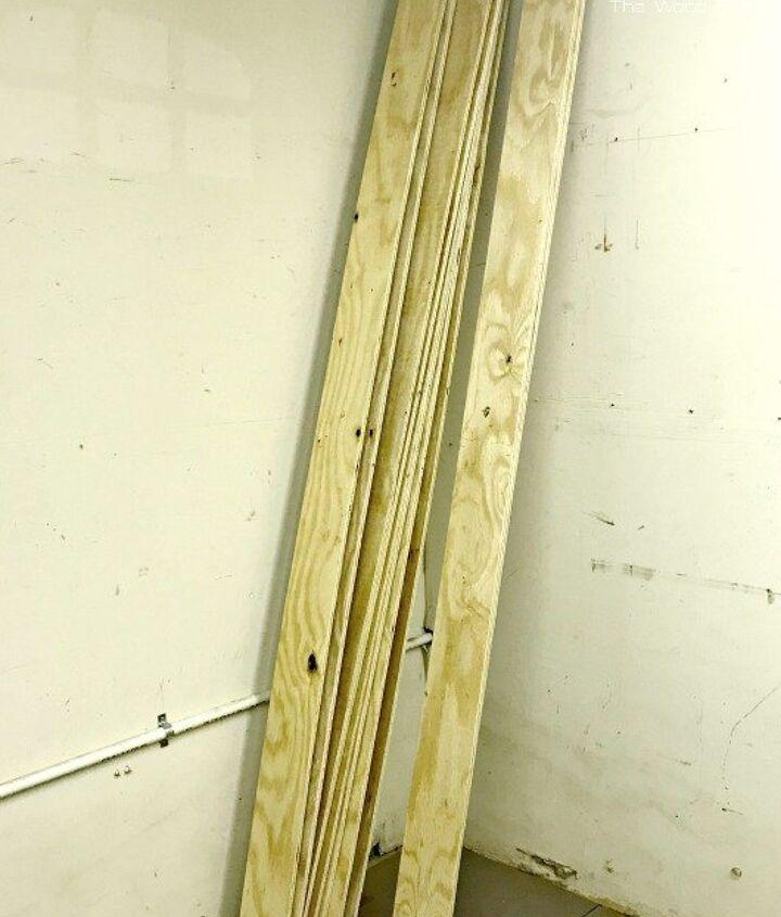 shiplap walls made of plywood
