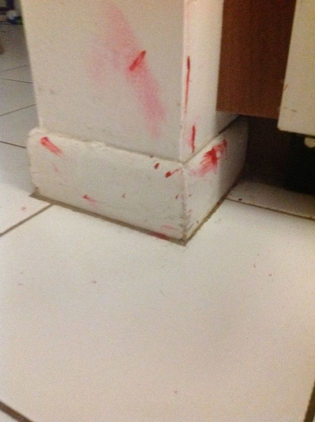 How To Remove Dried Nail Polish Splashed On Wall Tile Floor