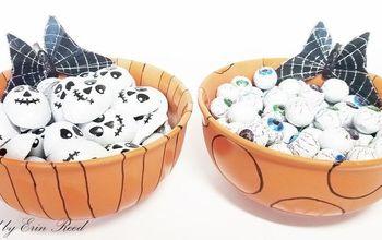 diy etched halloween cady bowls