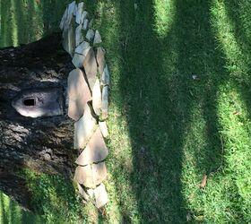 Gnome Home Tree Stump & Oak Tree Fairy Door, Part 2 | Hometalk