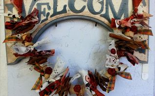 inexpensive fall garland