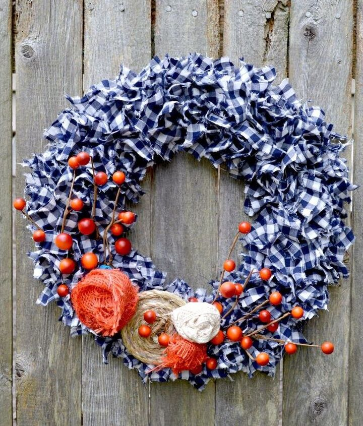 simple fall wreath tutorial under 10