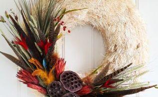 diy fall naturals wreath