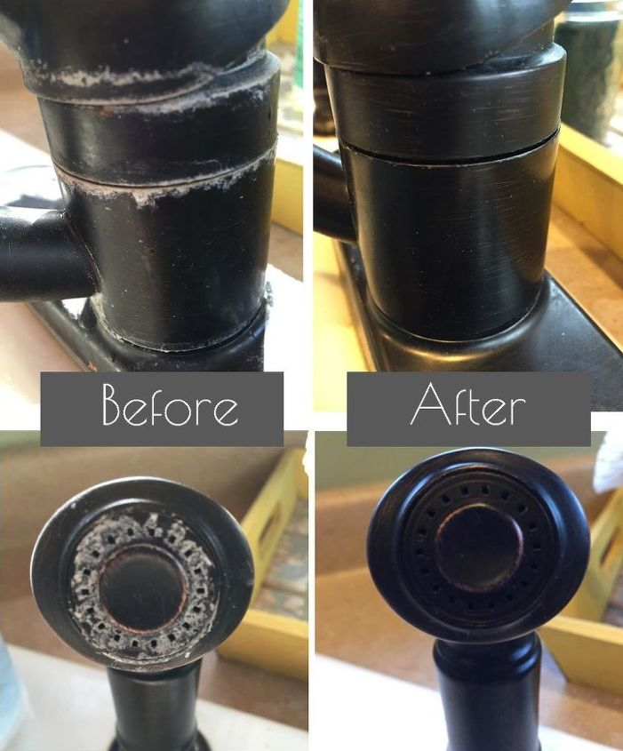 removing hard water stains naturally