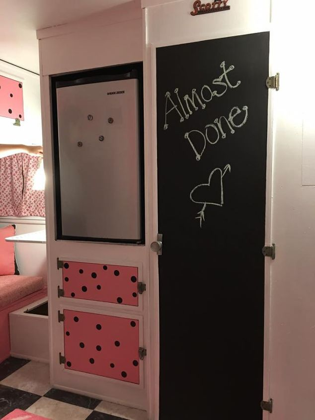 Chalkboard closet door