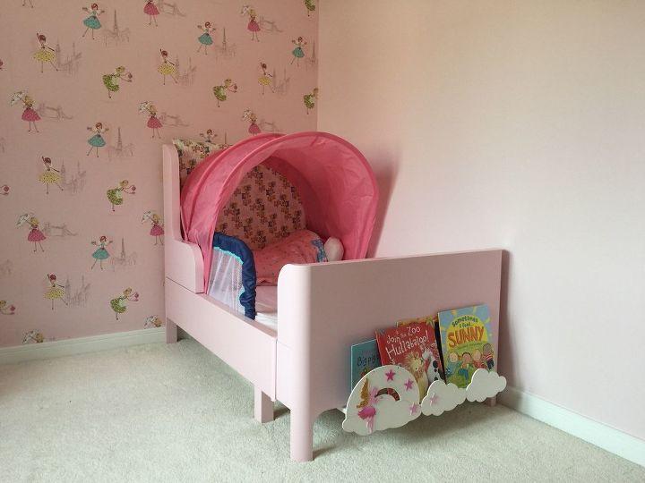 Fairyland Bed End Bookshelf For Toddler