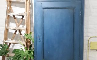 repaint on a waxed surface with chalk paint