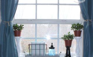 no sew window curtain alterations