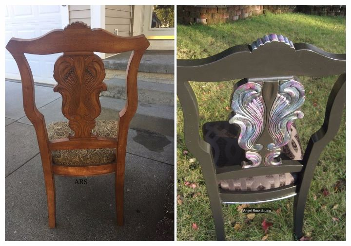 rhiannon an abalone inspired chair makeover