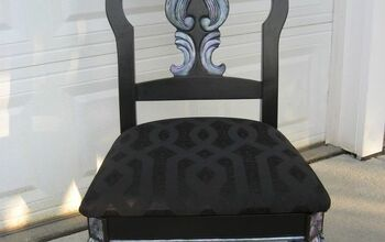 Rhiannon-An Abalone Inspired Chair Makeover