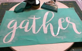 Chalk Couture Gather Sign