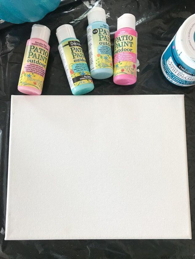 DIY Abstract Wall Art   Hometalk