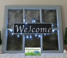 transform an old discarded window
