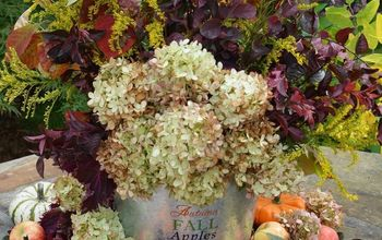 Easy DIY Fall Harvest Arrangement