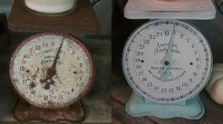 Has Anyone Restored Or Cleaned Up A Vintage Kitchen Scale Hometalk