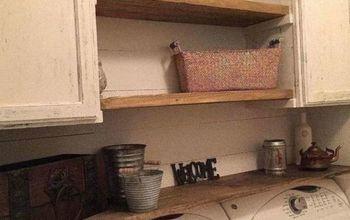 Farmhouse Laundry Room Update