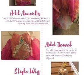 diy princess peach costume dress  sc 1 st  Hometalk & DIY Princess Peach Costume Dress | Hometalk