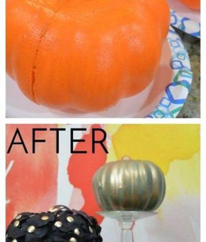 3 dollar store pumpkin makeovers