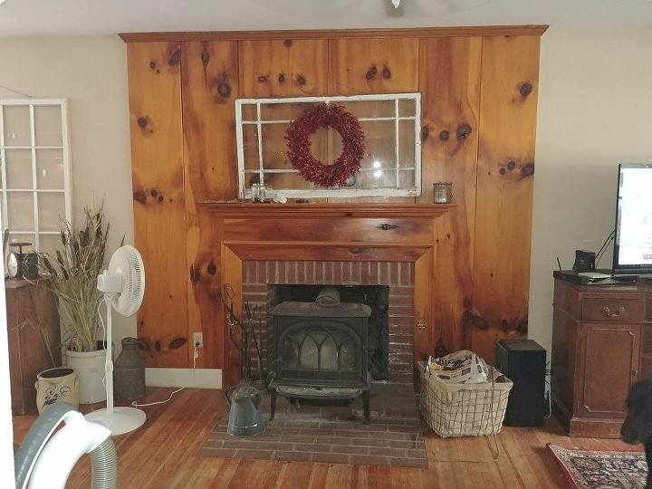 q help desperate to change my fireplace area