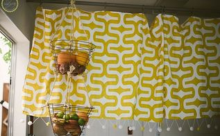 anthropologie hack easy pop pom curtain