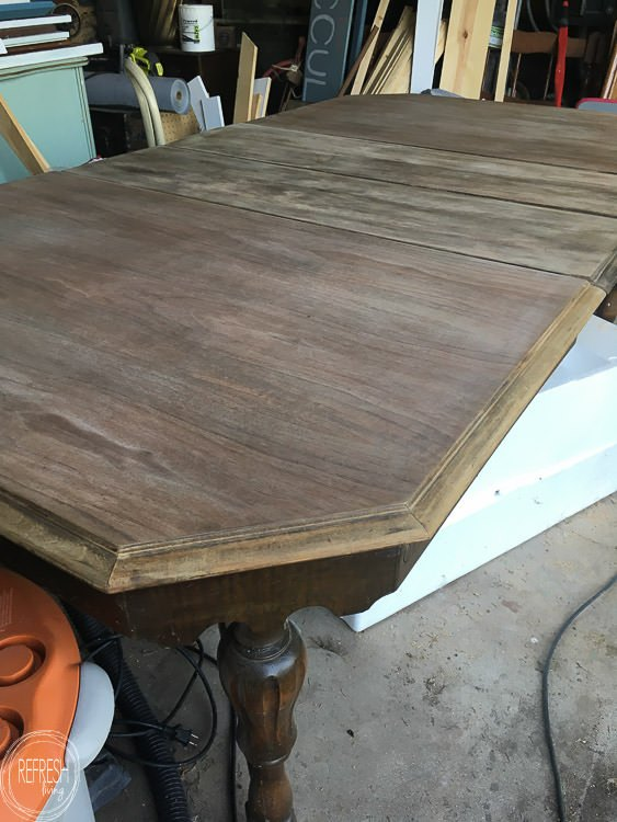 Refinished Dining Table For Under 50