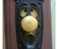 q pl help me to diy this kind of innovative backplates for doorknobs or