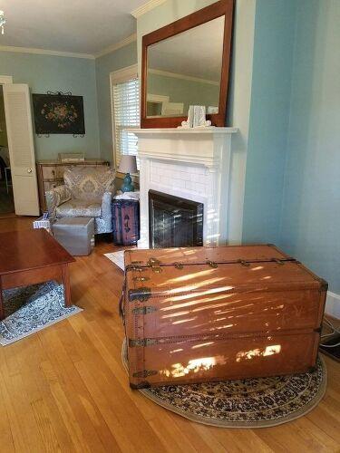 repurpose steamer trunk help me decorate hometalk