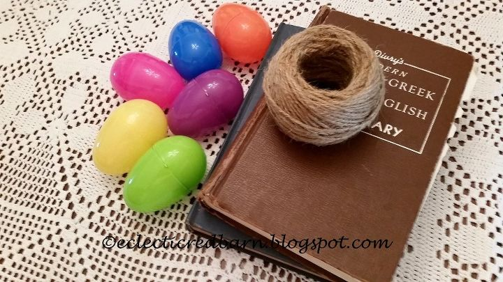 can plastic easter eggs become fall decor see what i did