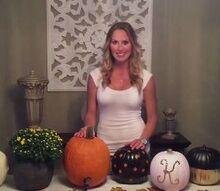 how to decorate faux pumpkins and make a pumpkin keg