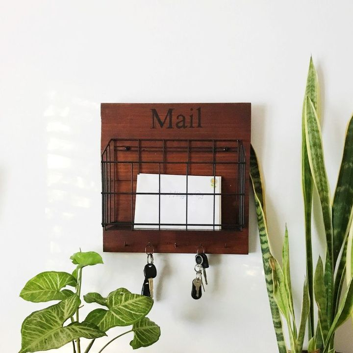 diy mail holders