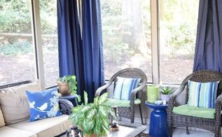 diy screened porch makeover