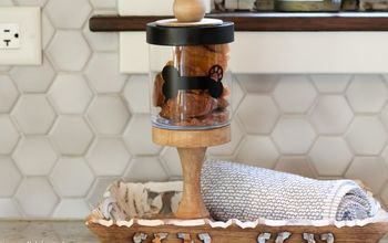 DIY Dog Treat Container {Upcycle Project!}