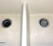 easily clean pot scars and rust stains from porcelain sinks