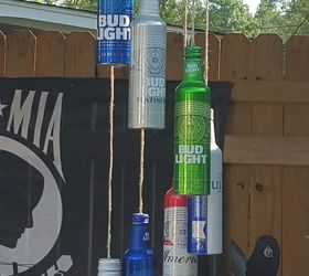 Aluminum Beer Bottle Wind Chime Hometalk