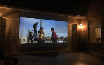 6 Steps to DIY'ing an Outdoor Movie Screen