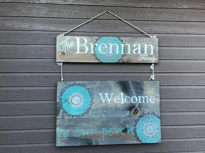 diy front porch sign