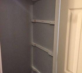 Superbe Diy Linen Closet Shelving