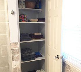 Bon Diy Linen Closet Shelving
