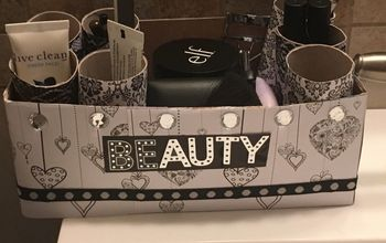 Kleenex Box Into Make up Organizer