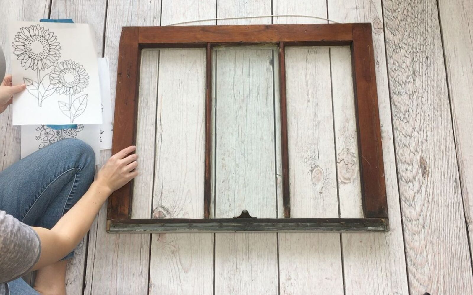 s 10 refreshing ways to avoid the see through in your glass, Step 1 Grab an old or unused window