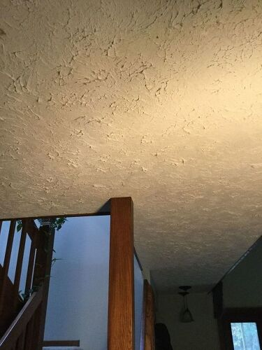 Very How do I smooth out my overly textured ceiling? | Hometalk QS79