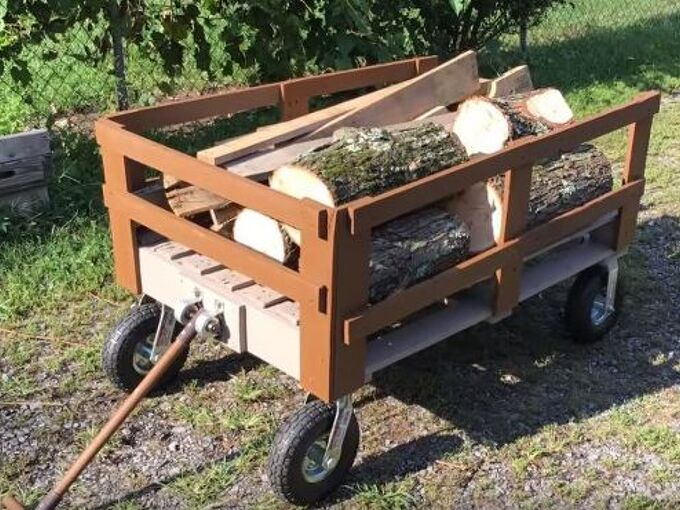DIY Wagon Made From Pallets!! | Hometalk